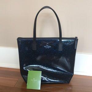 Blue Kate Spade Mini Tote Bag